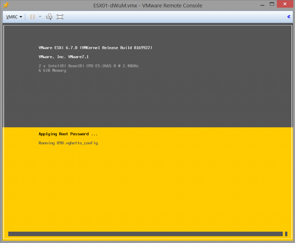 Creating a nested ESXi server in vCloud Director - vCloud Vision