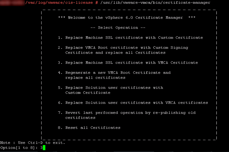 How to fix an expired VCSA Machine SSL certificate with a