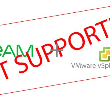 Another Veeam 9.5 U3a with VMware vSphere 6.7 U2 trick