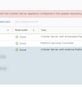 How to resolve a VMware vCenter Server PSC convergence failure